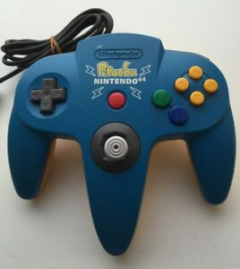 Nintendo 64 N64 Controller - Pikachu Blue Yellow RARE! - AUTHENTIC   TESTED!
