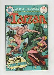 """TARZAN #237 NM-, """"The Stone Sphinx"""", Joe Kubert cover & art, Russ Manning art"""