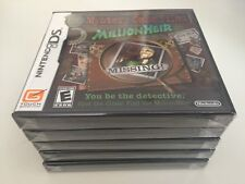Mystery Case Files: MillionHeir (Nintendo DS, 2008) DS NEW