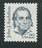 Scott #1863... 22 Cent... John J. Audubon ... 5 Stamps