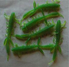 Leurre souple Créature 10cm 3,3g vert peche perche sandre black bass.....
