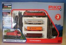 Piko H0 Startset ELok 182 001-8 mit 3 Waggons & Zubehör in O-Box #4454