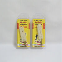Black Powder Cleaning 2 Pack Pro Shot 50 Caliber Cotton Bore Mop Cal Shooting