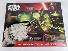 Star Wars Science Millennium Falcon UV Light Laser Disney Uncle Milton