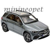 NOREV 183746 2019 MERCEDES BENZ GLE WITH SUNROOF 1/18 DIECAST CAR GREY METALLIC