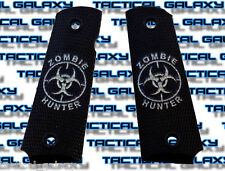 1911 TWO-TONE black ZOMBIE bio hunter fits mid and full colt S&W kimber para
