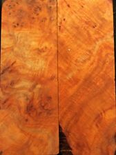 Bookmatched Paela Burl Knife Scales, Pistol Grips(702)