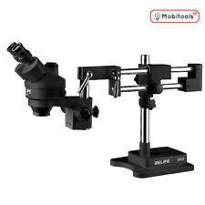 Relife M3T-STL2 Multipurpose Trinocular Boom Stereo Microscope 7-45 Zoom - UK