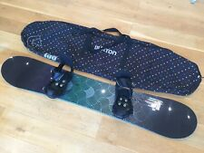 New listing Flow Venus 151cm Womens Snowboard with Burton Stiletto Bindings and Burton Bag