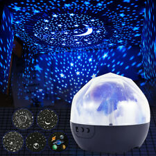 Children Night Lights 5 Styles Cosmic rotation LED Projector Rotating Kids Lamp
