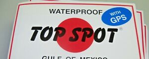 TOP SPOT FLORIDA FISHING CHART INSHORE CHARTS  FIND YOUR INSHORE FISH WATERPROOF