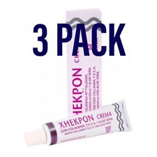 3 X XHEKPON CREMA CARA CUELLO ESCOTE 40 ml. 120ml Total