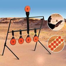 Self-Resetting-Spinner-Air-Rifle-Gun-Metal-5-Target--Shooting-Target-Set
