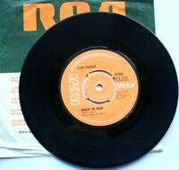 "EX/EX Elvis Presley RAISED ON ROCK (RCA 2435) 7"" VINYL 45"