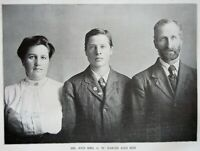 Gaston's Centennial History of OREGON - 1912 Biographies volume