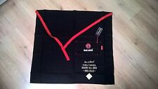 BACARDI  APRON BLACK EMBROIDERED APRON