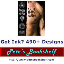 Got Ink? - Tattoo Book - 490+ Design - CD