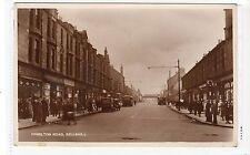 HAMILTON ROAD, BELLSHILL: Lanarkshire postcard (C18487)