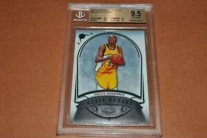 2007 Bowman Sterling Kevin Durant Rookie RC KD BGS 9.5 GEM MINT w/10 Surface!!!
