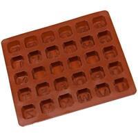 Lettres Forme Silicone Non-Stick Gelée De Chocolat Candy Mold Cake Moule À
