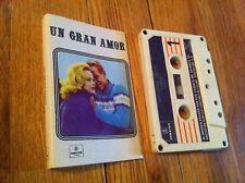 Vintage Un Gran Amor Cassette Tape Latin 21117 Noviecita Estas En Mi Amemonos CS