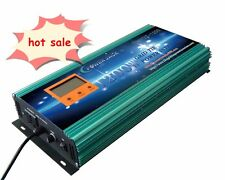 1200W Grid tie power inverter DC 102V-158V to AC 220V + LCD meter,MPPT for solar