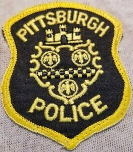 PA Pittsburgh Pennsylvania Police Patch (3.5In)