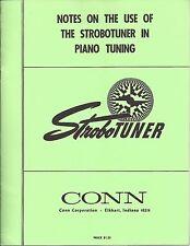 Stroboconn Industrial Model 6T5 12-window Chromatic Tuner User Manuals