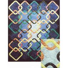 CELTIC WEDDING RINGS QUILT QUILTING PATTERN, from Prairie's Edge Patchworks, NEW