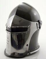 Medieval-Barbute-Helme-Armour-Helmet-Roman-knight-helmets with cotton cap+exp sh