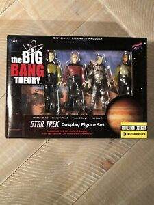 The Big Bang Theory Star Trek Cosplay Figure Set, Convention Exclusive