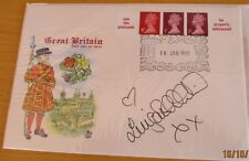 """FDC (First Day Cover) Signed Luisa Bradshaw-White"""", """"Eastenders"""""""