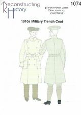 Schnittmuster RH 1074 Paper pattern: 1915 Military Trench Coat