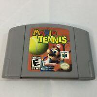 Vintage Mario Tennis Nintendo 64 N64 Good Labels Cartridge Cart Sports Game