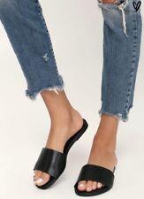 Lulu's Tara Leather Slides!! Handmade in Brazil!