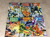 FANTASTIC FORCE #7,8,9,10,11,12 LOT OF 6 COMIC 1995 MARVEL