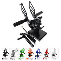 FXCNC Racing Front Foot Pegs Rearsets For DUCATI STREETFIGHTER 848/Monster  696