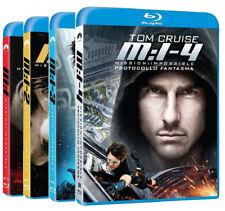 MISSION IMPOSSIBLE - LA COLLEZIONE 4 FILM (4 BLU-RAY) con TOM CRUISE