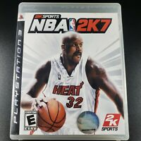 NBA 2K7 PS3 (Sony PlayStation 3, 2006) Complete - Tested and Working