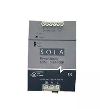 Sola sdn 10-24-100p power supply 24vdc 10a 28v 230vac 2.0a 60hz