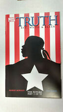 TRUTH RED, WHITE & BLACK #1  1st Printing - Captain America / 2003 Marvel Comics