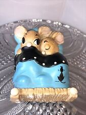 "Pendelfin ""Twins� Stonecraft Hand Painted England"