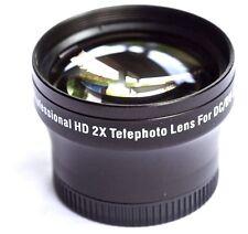 PRO HD 2x TELEPHOTO LENS FOR SONY DCR-SR37E DCR-SR38E
