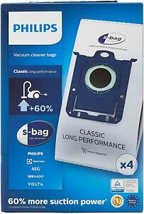 Philips Vacuum Cleaner Bag S-Bag Classic Long Performance Fc8021/03