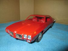 1970 pontiac GTO Lemans  buckets console rally  loose Dealer Promo Red 1/25