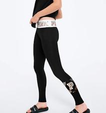9c942990699fdc New ListingVictoria's Secret PINK Cotton Yoga Legging Ombre Bling Sequins  Logo Large SEALED