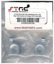 STRC STC91032-5GM Gunmetal Aluminum Rear Hub Carriers SC10 4x4 HopUp Part 0.5Deg
