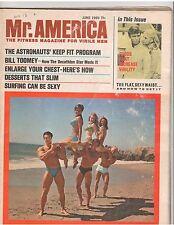 MR AMERICA muscle bodybuilding magazine/DAVE DRAPER/Don Peters/Dan Mackey 6-69