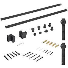 HOMCOM  Binario per Porta Scorrevole con Spessore 3,4-4cm Kit Accessori con