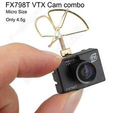 FX798T 5.8G 40ch Wireless VTX Micro FPV Drone Camera Transmitter Leaf Antenna TX
